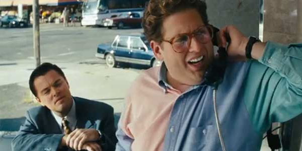 From the Wolf Of Wall Street Movie